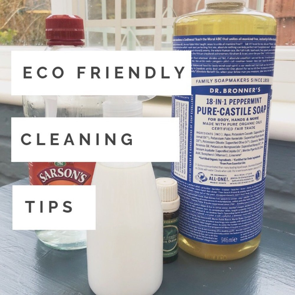 Eco Friendly Cleaning Tips