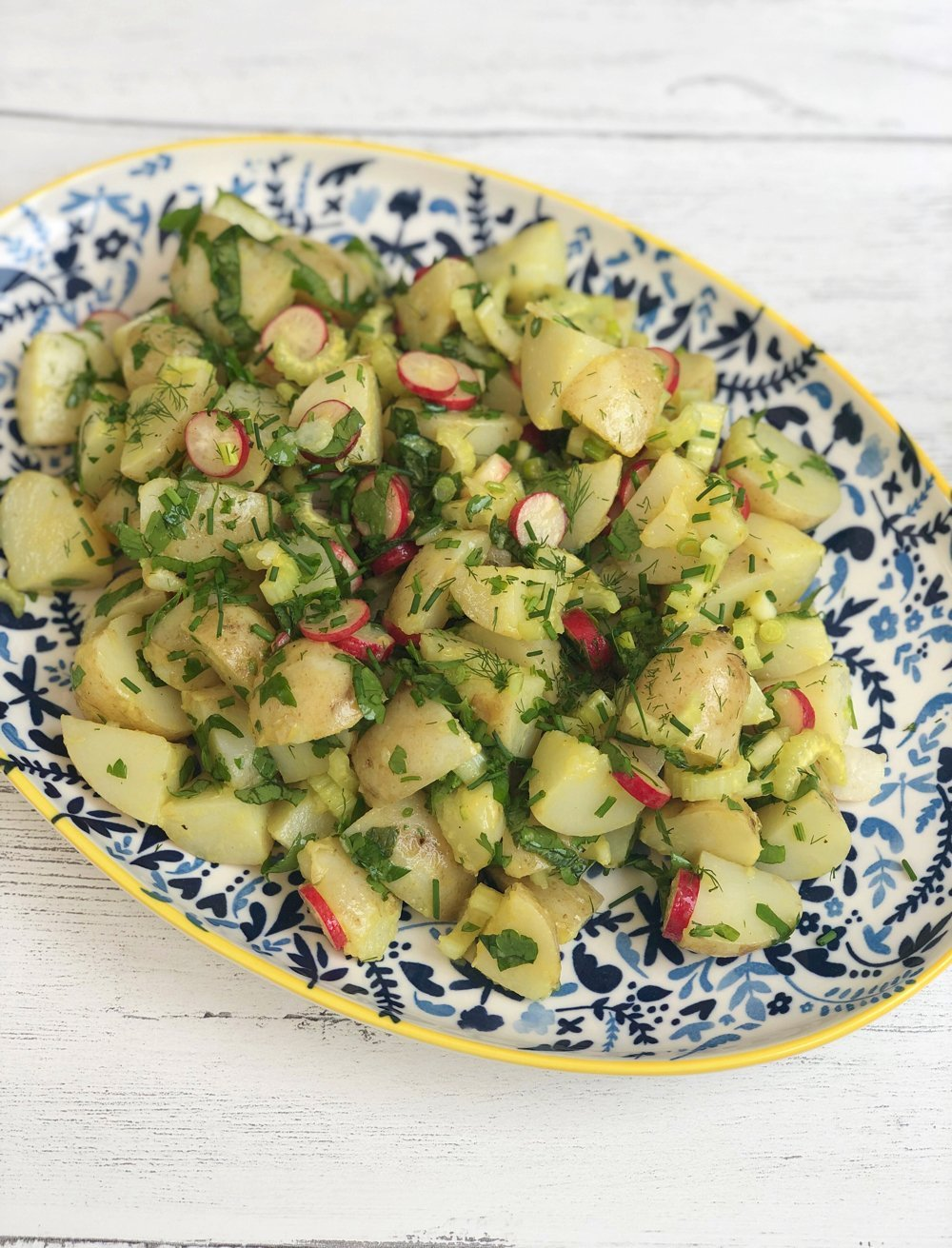 Potato Salad with Radishes and Herbs