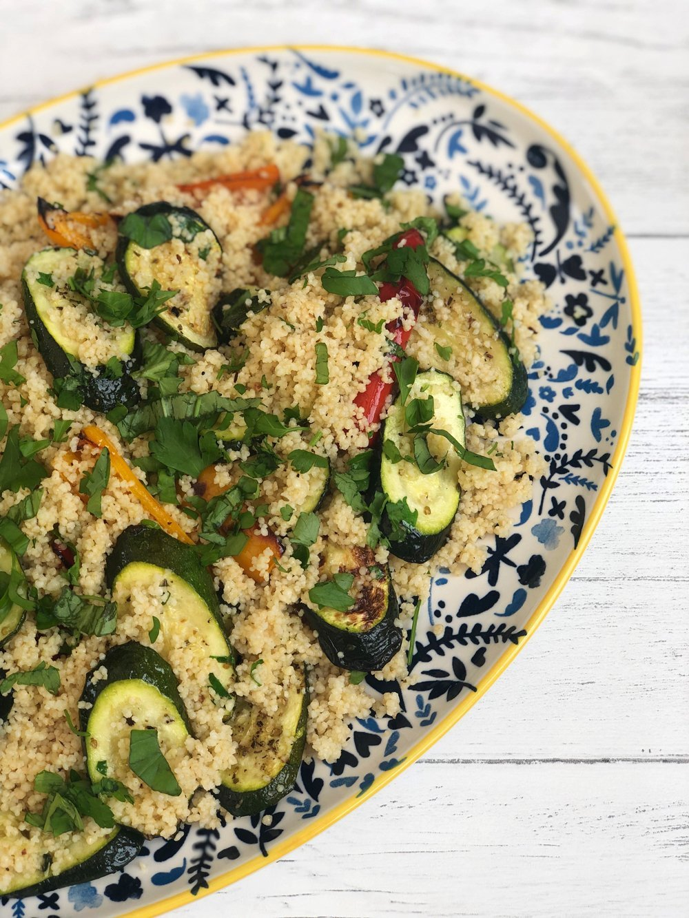 Couscous Salad with Roast Vegetables