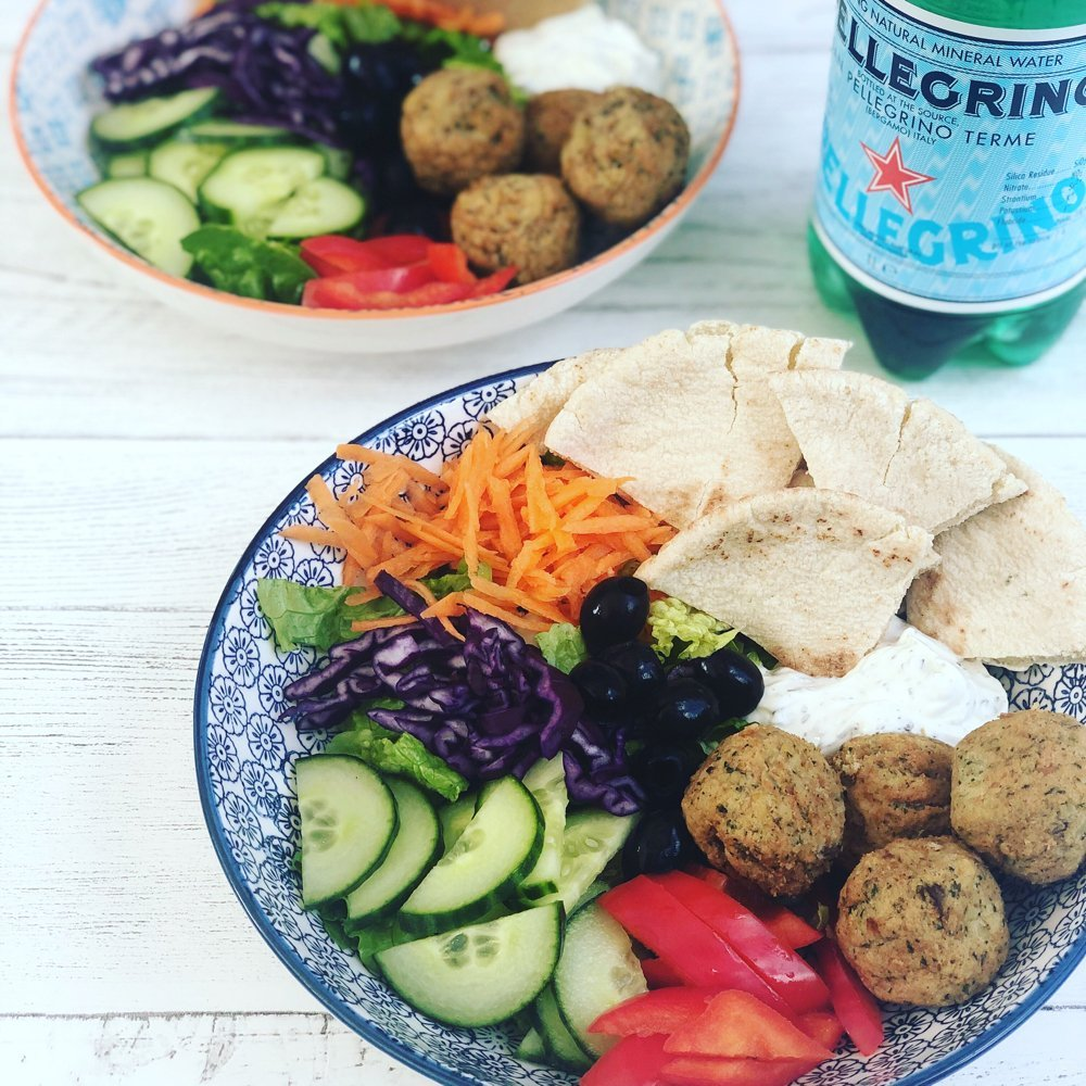Falafel Pitta Lunch Bowl