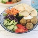 falafel pitta lunch bowl