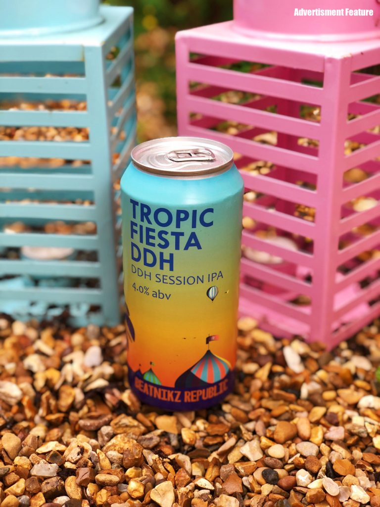 Beatnikz Republic Tropic Fiesta Beer
