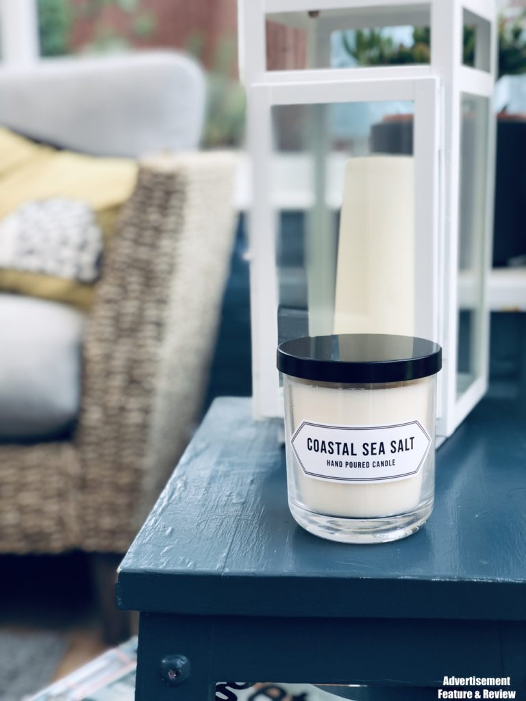 Coastal Sea Salt scented candle from Norfolk Natural Living