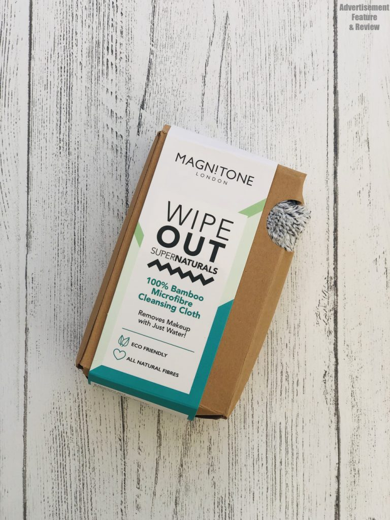 Magnitone London Wipe Out 100% bamboo reusable makeup wipe