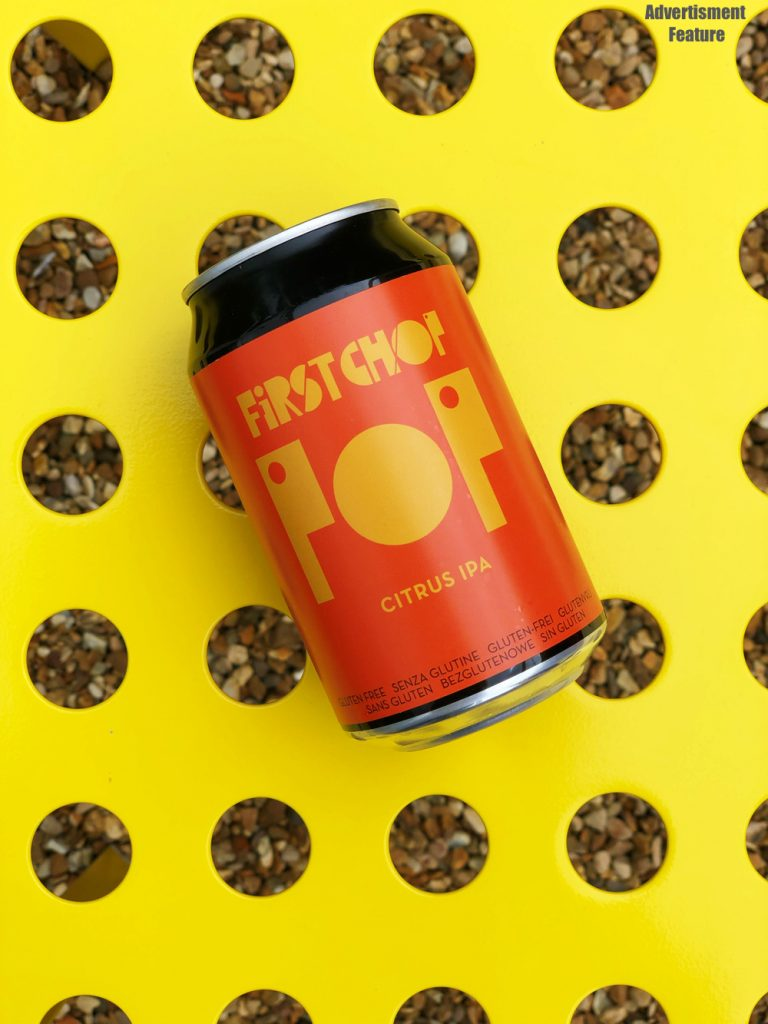 First Chop Pop beer