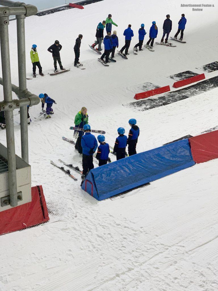 kids ski lessons at chillfactore manchester