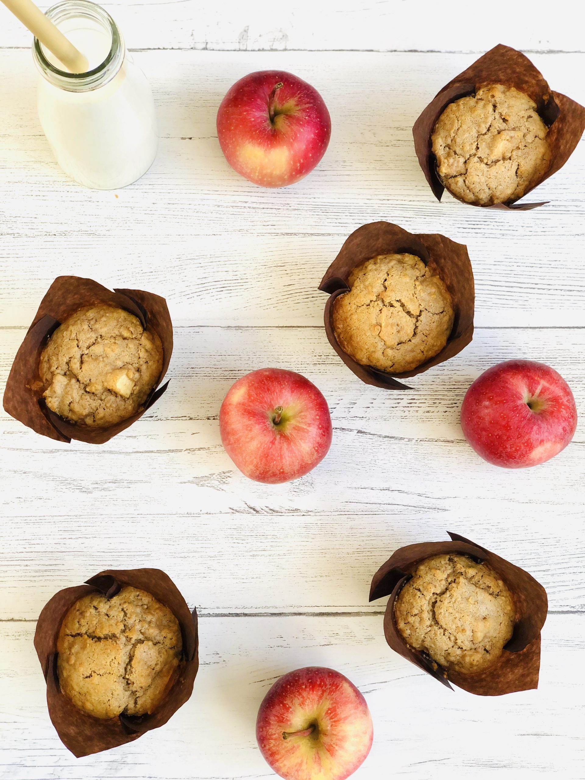 Breakfast Muffins With Apples And Oats Daisies Pie