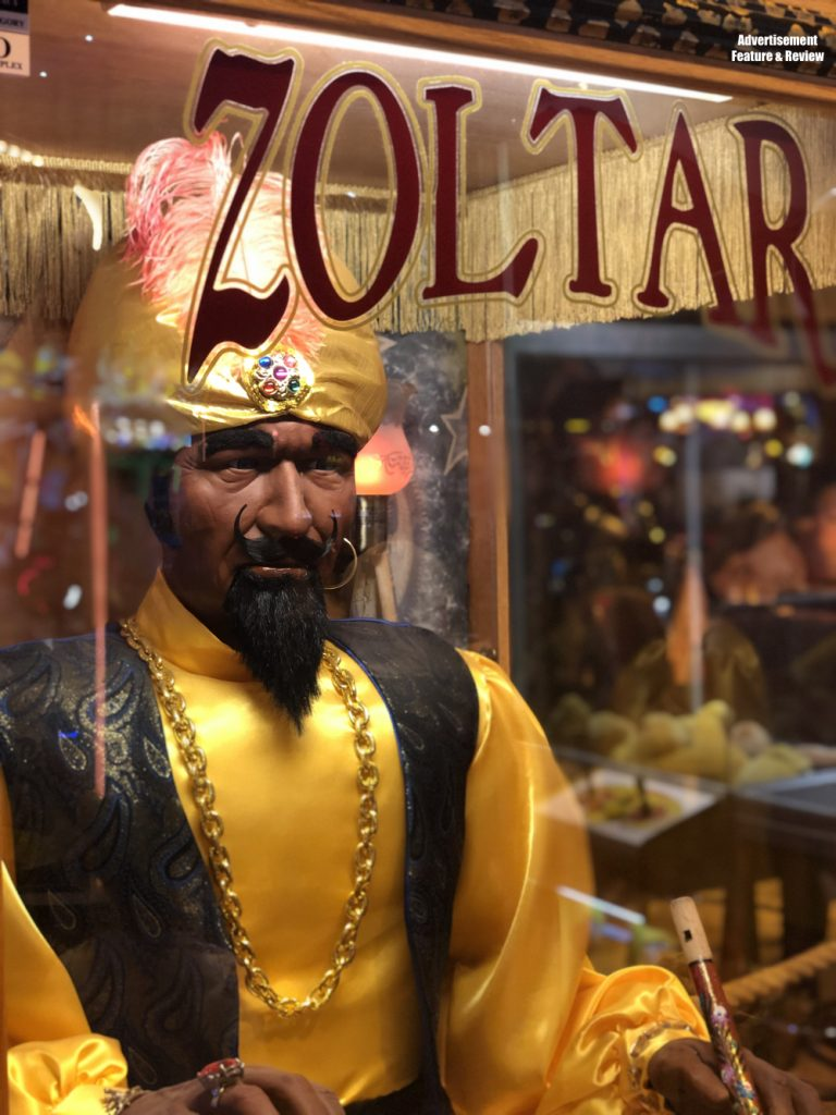 Zoltar fortune telling machine like the one in the film Big - coral island blackpool
