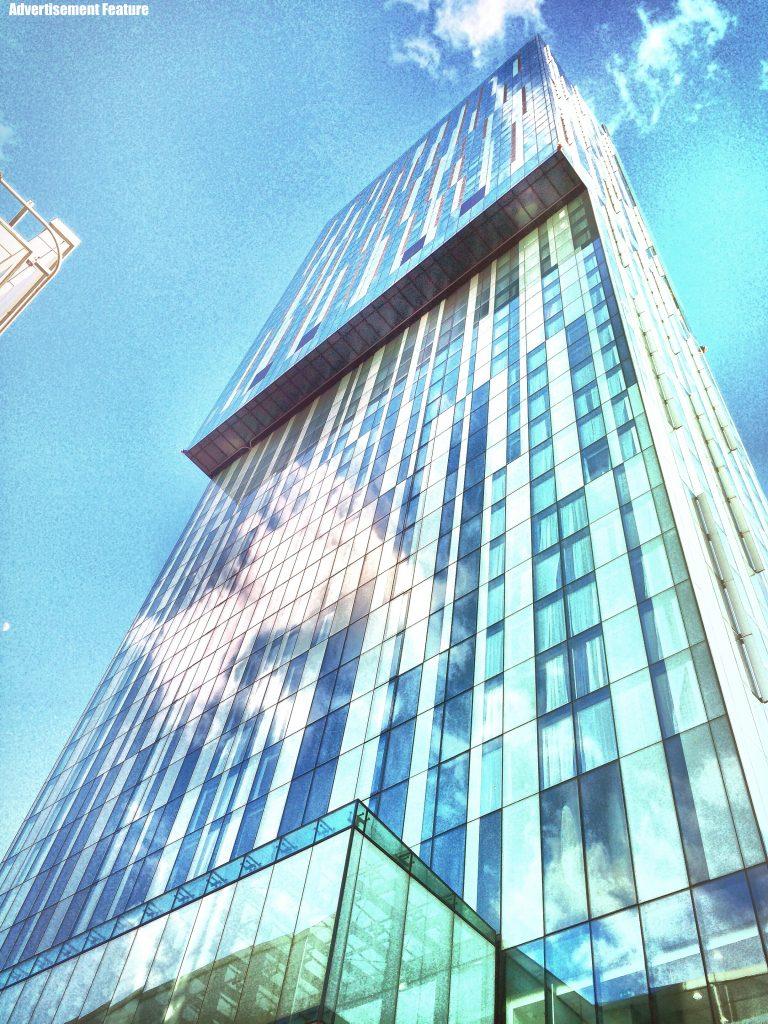 Beetham Tower Manchester - urban skyline