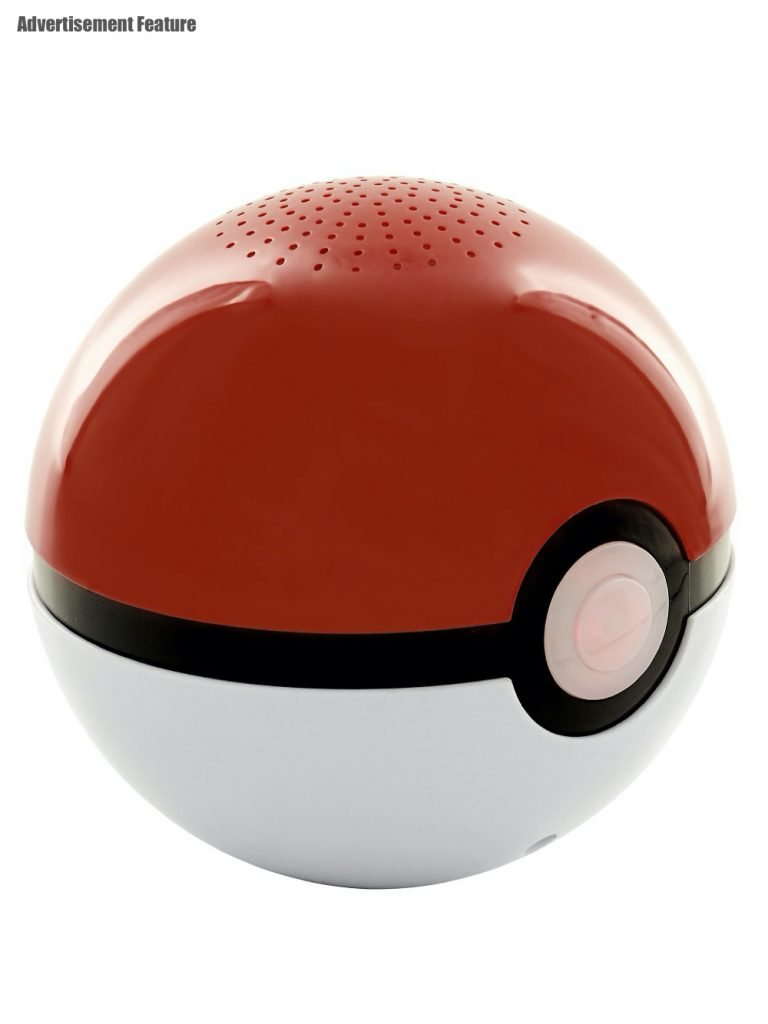 Pokémon Poké Ball Speaker in red and white