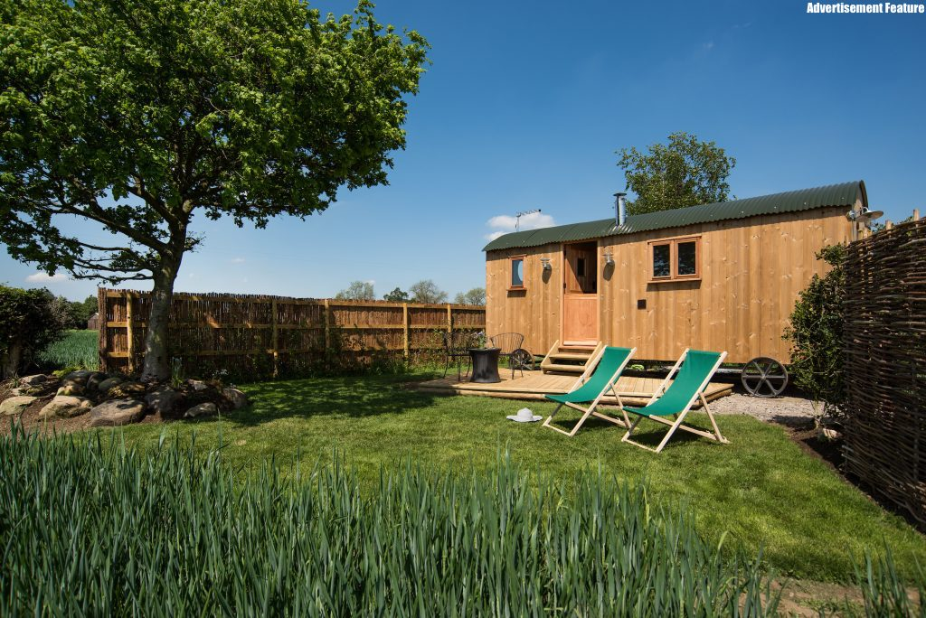 Premier Cottages Shepherds Hut at Mill Granary Cottages in County Durham