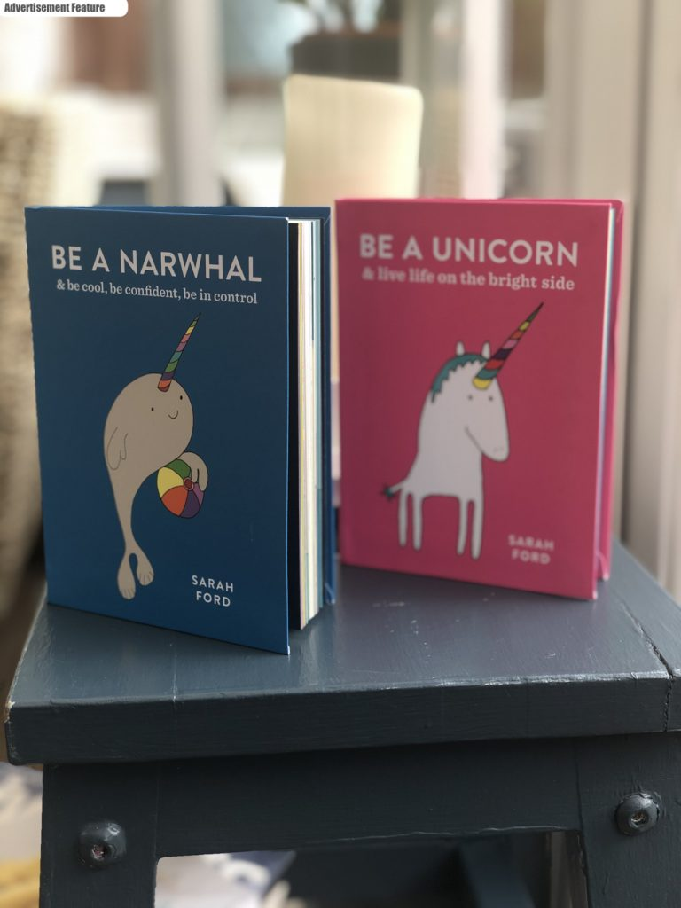 Be a Narwhal and Be a Unicorn books by Sara Ford
