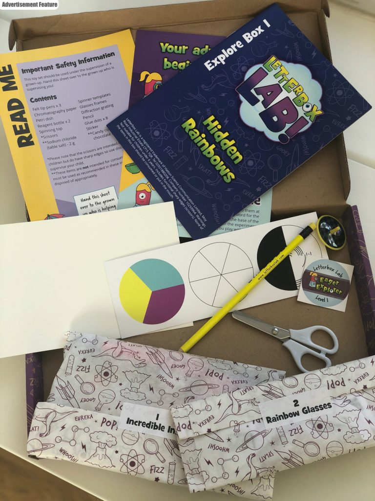 letterbox labs - kids science subscription box filled with little science experiments and the tools to do them