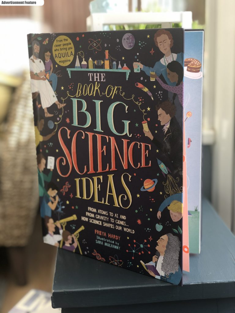 the book of big science ideas - freya hardy