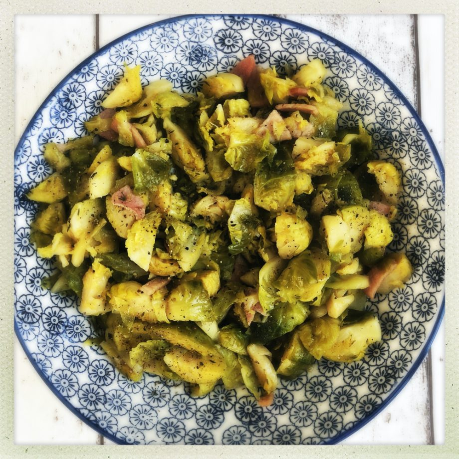 Side Dishes for Christmas Dinner – Brussel Sprouts with Bacon and Maple Syrup