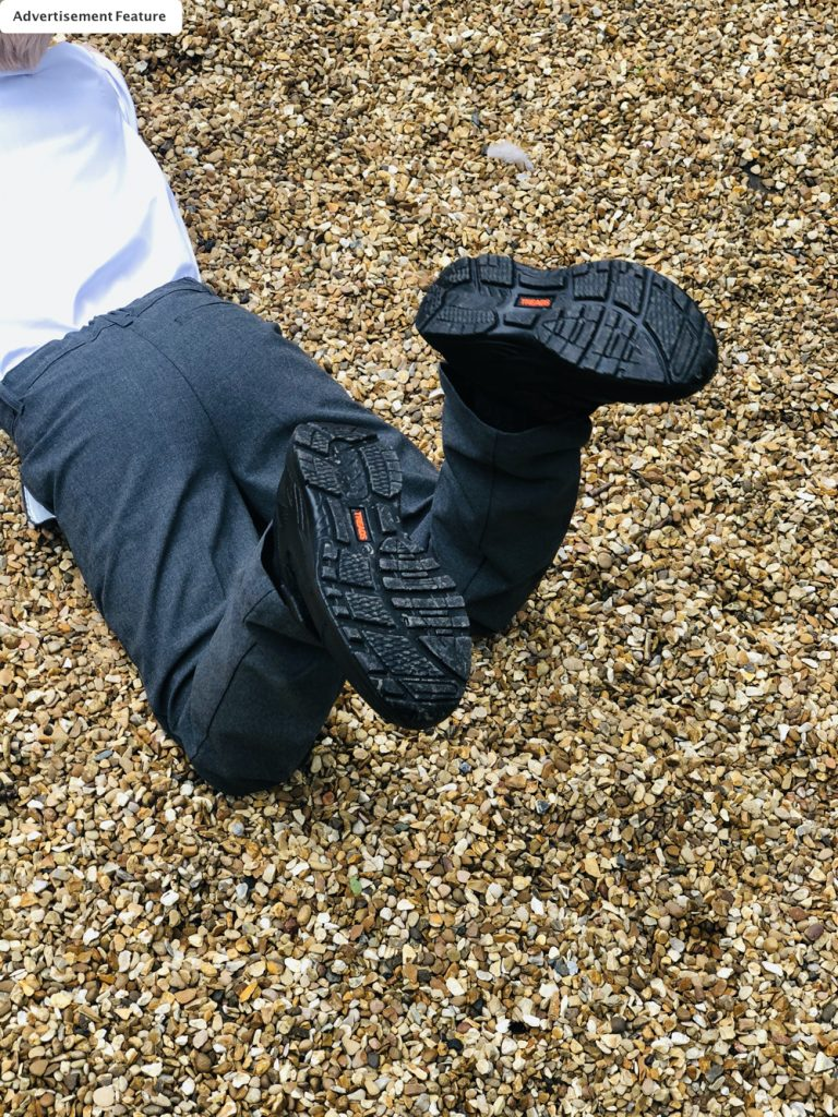 Treads kids school shoes