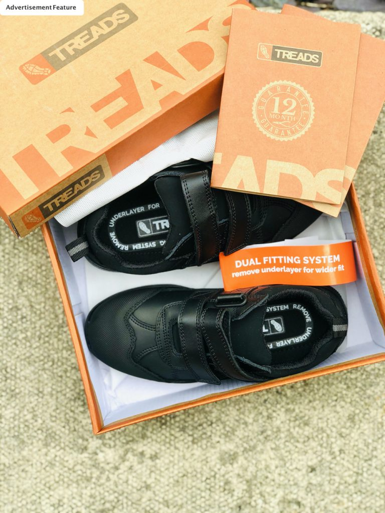 boys school shoes from treads