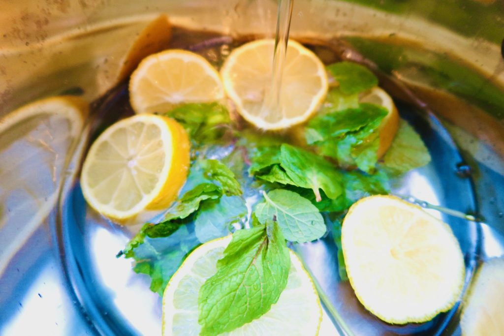 lemon and mint simmer pot recipe