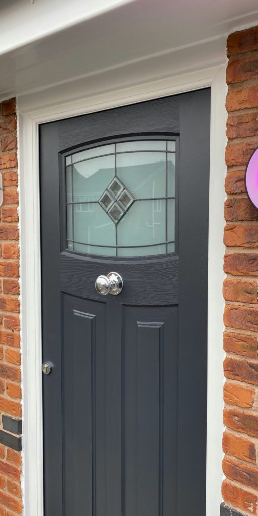 1930s Rock Door supplied and fitted by NK Roofline Ltd - suppliers of UPVC fascias, soffits and guttering