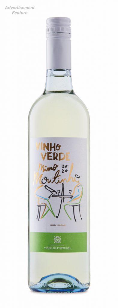 bottle of Mimo-Moutinho-Portuguese-Vinho-Verde - wines for summer 2021